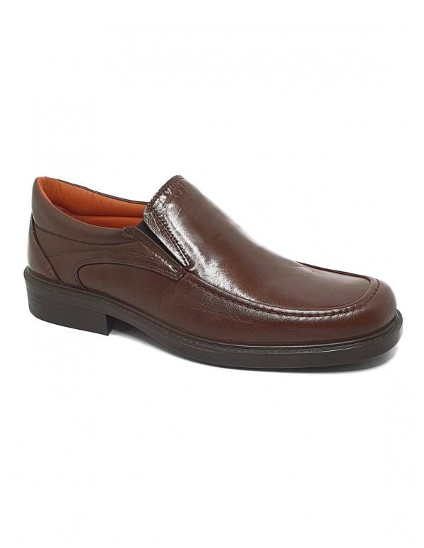Zapato de hombre Luisetti en marron 0106