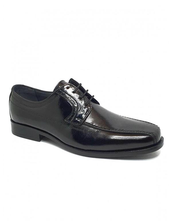 Zapato de hombre Luisetti en negro...